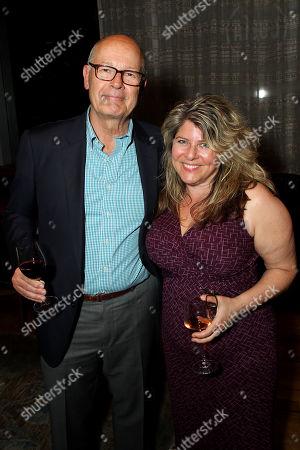 Stock Photo of Harry Smith, Naomi Wolf