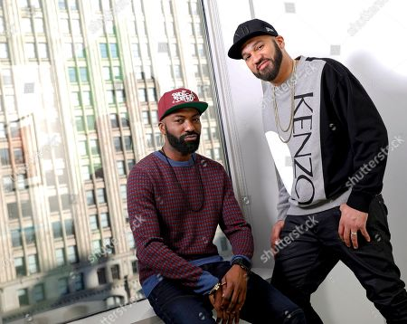"Daniel Baker, The Kid Mero, Desus Nice, The Kid Mero. This photo shows Daniel Baker, better known as Desus Nice, left, and The Kid Mero, also known as The Kid Mero, during a portrait session in New York. The pair host the late night series ""Desus & Mero,"" on Showtime"