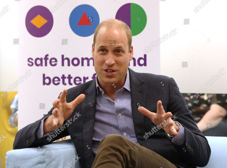 Prince William visit to the Albert Kennedy Trust, London