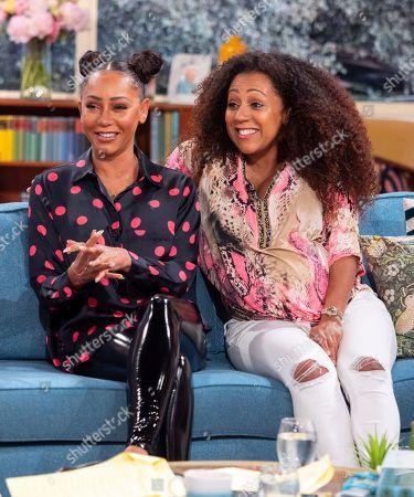 Melanie Brown and Danielle Brown