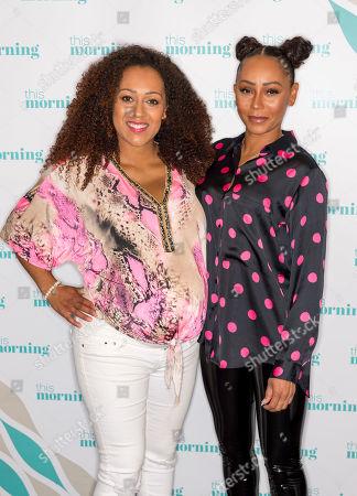 Danielle Brown and Melanie Brown