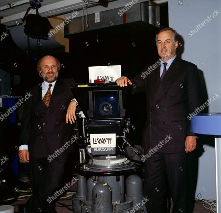 Greg Dyke (LWT Managing Director) and Sir Christopher Bland (LWT Chairman)