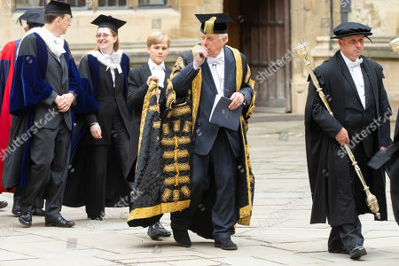 Chancellor of the University of Oxford,The Rt Hon the Chris Patten.