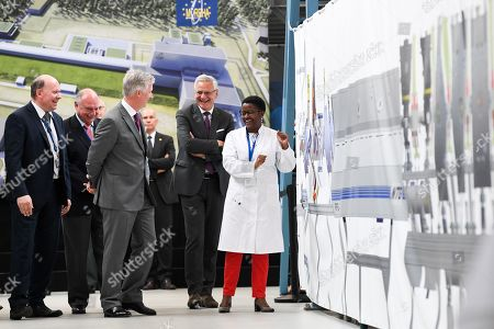 Editorial photo of King Philippe visits the Nuclear Research Center, Mol, Belgium - 26 Jun 2019