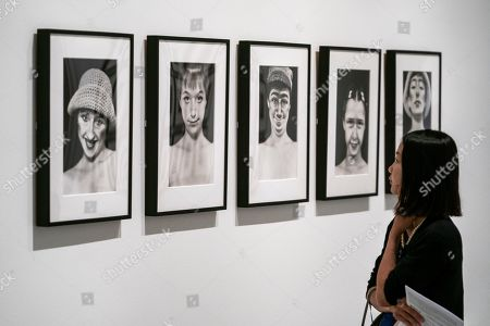 Editorial picture of Press preview of exhibition of Cindy Sherman at National Portrait Gallery in London, United Kingdom - 26 Jun 2019