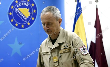 New commander European Union Force EUFOR Major Foto