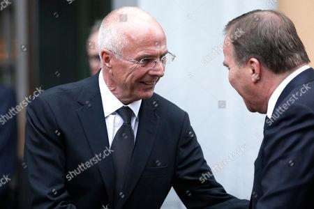 Editorial photo of Former UEFA President Lennart Johansson funeral  - 26 Jun 2019