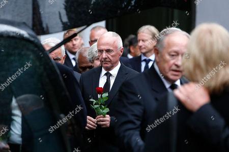 Editorial image of Former UEFA President Lennart Johansson funeral  - 26 Jun 2019