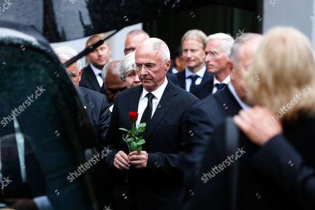 "Stock Picture of Sven-Goran Eriksson ""Svennis"" at the Funeral of former UEFA president Lennart Johansson in Katarina church, Stockholm, Sweden"