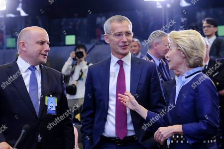 Editorial image of NATO Defence ministers council, Brussels, Belgium - 26 Jun 2019