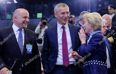 Editorial picture of NATO Defence ministers council, Brussels, Belgium - 26 Jun 2019