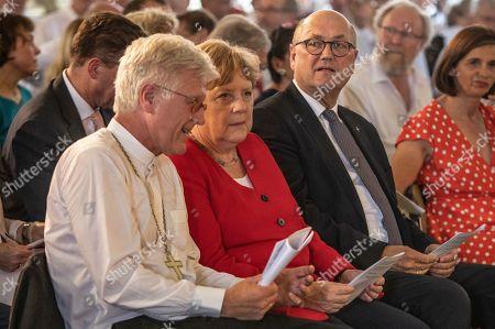 Editorial picture of Angela Merkel attends traditional Johannisempfang, Berlin, Germany - 26 Jun 2019