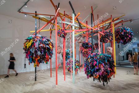 Editorial image of 'Masterpiece' art fair, Opera Gallery, London, UK - 26 Jun 2019