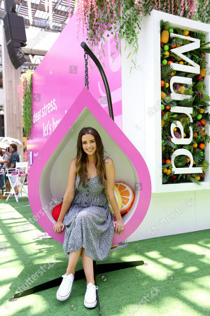 Stock Photo of Beauty and lifestyle influencer Jess Conte at Murad's first-ever science-backed wellness pop-up in Los Angeles, CA on in Los Angeles