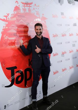 Dani Rovira poses for the photographers during a photocall for the movie 'Los Japon' (Japan) in Madrid, Spain, 26 June 2019.