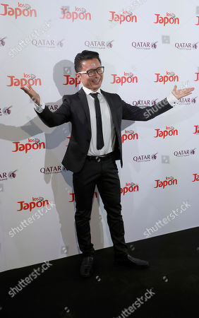 Ryo Matsumoto poses for the photographers during a photocall for the movie 'Los Japon' (Japan) in Madrid, Spain, 26 June 2019.