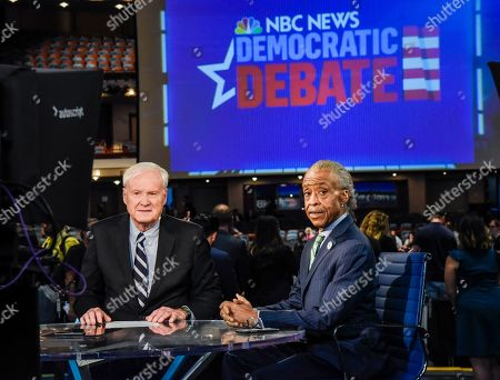 Chris Matthews and Reverend Al Sharpton