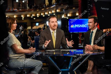 Chuck Todd in the Spin Room
