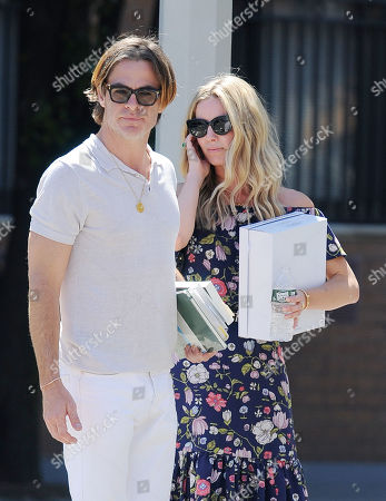 Stock Image of Chris Pine and Annabelle Wallis