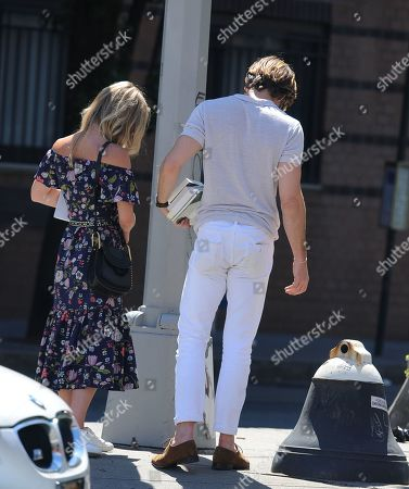Stock Picture of Chris Pine and Annabelle Wallis