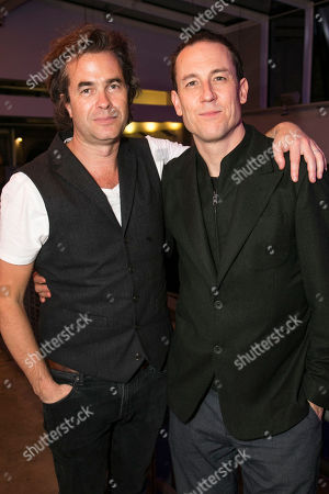 Stock Picture of Rupert Goold (Director) and Tobias Menzies (Lucas)