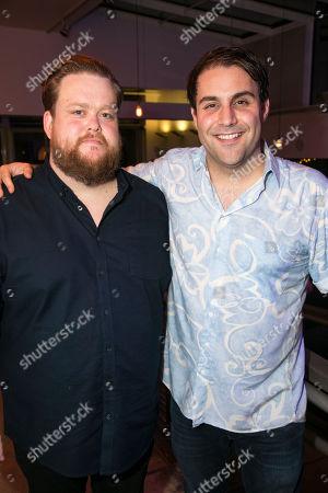 Stock Picture of Danny Kirrane (Gunner) and Adrian der Gregorian (Rune)