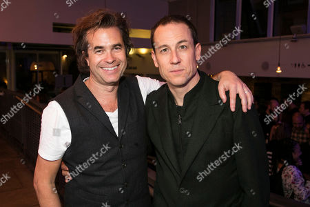 Stock Image of Rupert Goold (Director) and Tobias Menzies (Lucas)
