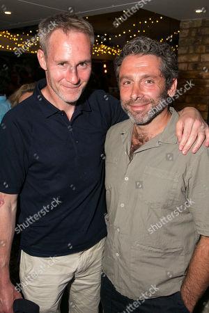 Peter McDonald and Elliot Levey