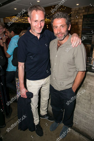 Stock Photo of Peter McDonald and Elliot Levey