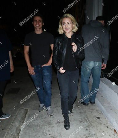 Editorial photo of Tanner Buchanan and Lizzie Broadway out and about, Los Angeles, USA - 25 Jun 2019