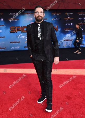 """Martin Starr arrives at the world premiere of """"Spider-Man: Far From Home"""", at the TCL Chinese Theatre in Los Angeles"""