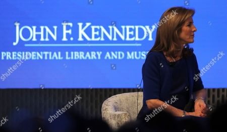 Caroline Kennedy during the JFK Space Summit at the John F. Kennedy Presidential Library in Boston