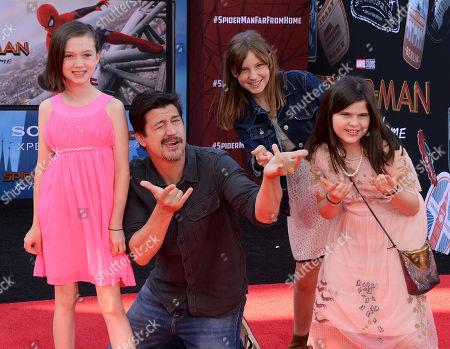 Ken Marino and family