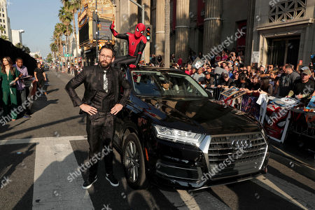 """Martin Starr at the World Premiere of Columbia Pictures' """"Spider-Man: Far From Home"""" at the TCL Chinese Theatre."""