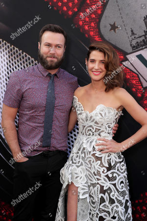 "Taran Killam and Cobie Smulders at the World Premiere of Columbia Pictures' ""Spider-Man: Far From Home"" at the TCL Chinese Theatre."