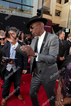 """Hollywood, CA - June 26, 2019: J. B. Smoove at the World Premiere of Columbia Pictures' """"Spider-Man: Far From Home"""" at the TCL Chinese Theatre. The film is in theaters Tuesday, July 2nd. (Photo by Eric Charbonneau/for Sony Pictures/Shutterstock)"""
