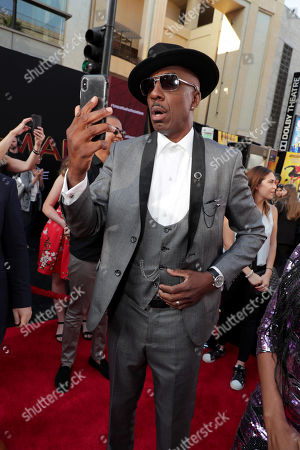 """J. B. Smoove at the World Premiere of Columbia Pictures' """"Spider-Man: Far From Home"""" at the TCL Chinese Theatre."""