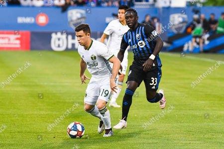 Editorial image of MLS Portland Timbers vs Montreal Impact, Montreal, USA - 26 Jun 2019