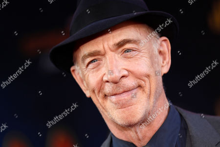 J. K. Simmons poses for photos on the red carpet prior to the premiere of 'Spider-Man: Far From Home' at the TLC Chinese Theater in Hollywood, California, USA, 26 June 2019. The movie will hit the theaters in the US on 02 June.