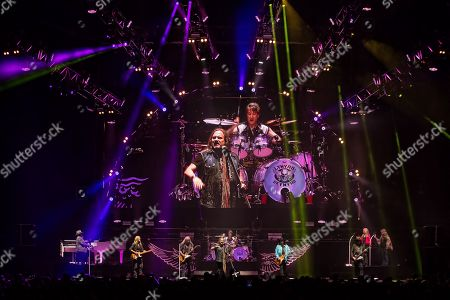 Editorial picture of Lynyrd Skynyrd in concert, The SSE Hydro, Glasgow, Scotland, UK - 26 Jun 2019