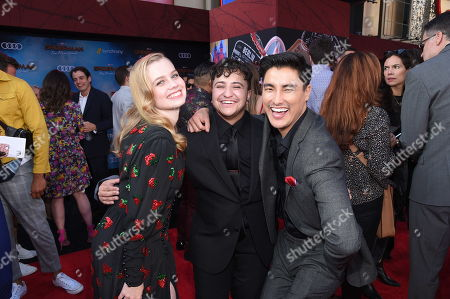 Stock Photo of Angourie Rice, Zach Barack and Remy Hii