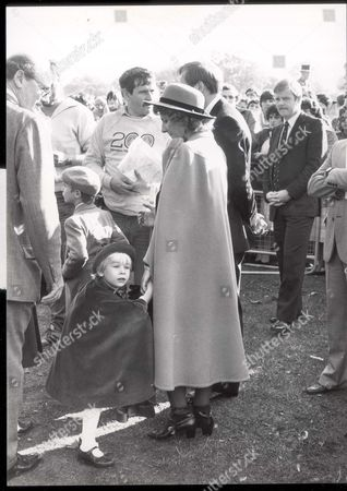 [lady Davina Windsor. Now: Lady Davina Lewis 7/04] The Duke And Duchess Of Gloucester Presented The Prize Today In The Park Accompanied By Their Three Children - The Earl Of Ulster 9 [lady Davina Windsor. Now: Lady Davina Lewis 7/04] 6 And In A Right Pickle In Lady Rose Windsor 3 Who Continuously Puncehd And Kicked Her Mother Until Nannie Took Her Away. Photo Shows: The Duke And Duchess With Lady Davina And Earl Of Ulster. ...royalty
