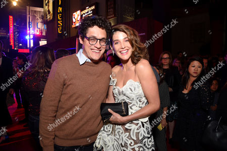Phil Lord and Cobie Smulders
