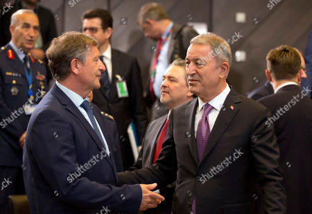 Editorial picture of US Nato, Brussels, Belgium - 27 Jun 2019