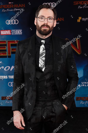 Martin Starr poses for the photographers on the red carpet prior to the premiere of 'Spider-Man: Far From Home' at the TLC Chinese Theater in Hollywood, California, USA, 26 June 2019. The movie will hit the theaters in the US on 02 June.