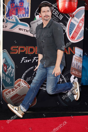 Editorial photo of Spider-Man: Far From Home movie premiere - Arrivals, Hollywood, France - 26 Jun 2019