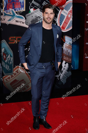 Stock Image of Nick Bateman poses for the photographers on the red carpet prior to the premiere of 'Spider-Man: Far From Home' at the TLC Chinese Theater in Hollywood, California, USA, 26 June 2019. The movie will hit the theaters in the US on 02 June.