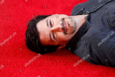 Stock Image of Ken Marino poses for the photographers on the red carpet prior to the premiere of 'Spider-Man: Far From Home' at the TLC Chinese Theater in Hollywood, California, USA, 26 June 2019. The movie will hit the theaters in the US on 02 June.