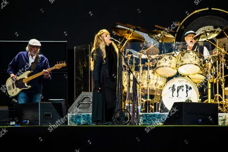 Fleetwood Mac - John McVie, Stevie Nicks and Mick Fleetwood