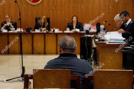 Editorial image of Trial of sport agent Santos Marquez in Majorca, Palma De Mallorca, Spain - 27 Jun 2019